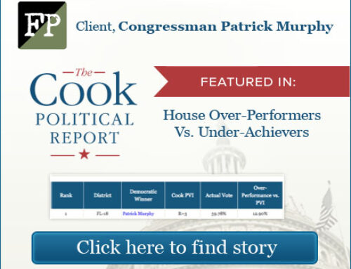 Frederick Polls Client featured in The Cook Political Report
